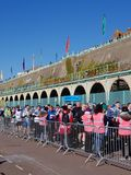 Brighton Half Marathon 2018. Brighton Half Marathon is one of the oldest and popular marathons held in the UK Stock Photo