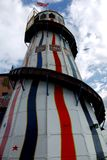 Brighton: helter skelter ride on pier Stock Photo