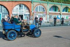 BRIGHTON, HET OOSTEN SUSSEX/UK - 1 NOVEMBER: Auto enkel geëindigd Londen Royalty-vrije Stock Fotografie