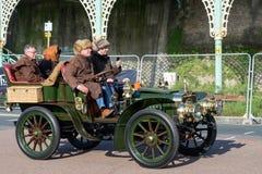 BRIGHTON, HET OOSTEN SUSSEX/UK - 1 NOVEMBER: Auto enkel geëindigd Londen Stock Afbeelding