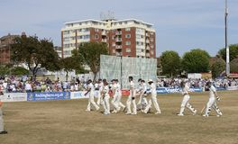 Brighton & Hove cricket ground. Sussex. England Royalty Free Stock Photography