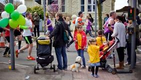 Brighton and Hove marathon Royalty Free Stock Photo