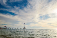 Brighton Jetty, Australia Meridionale Fotografie Stock