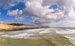 Brighton kust, Storbritannien Royaltyfria Foton