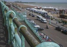 Brighton - l'inferriata Immagine Stock