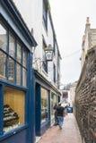 Brighton Lanes, het UK stock afbeeldingen