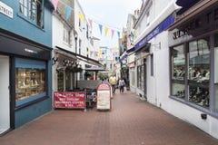 Brighton Lanes UK royaltyfri foto