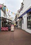 Brighton Lanes UK fotografering för bildbyråer