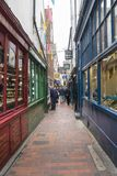Brighton Lanes UK royaltyfri fotografi