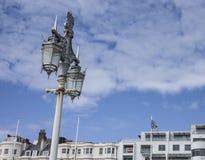 Brighton - le courrier de lampe photographie stock libre de droits