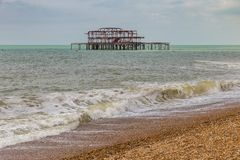 Brighton, le Sussex est, R-U image stock
