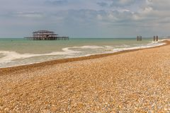 Brighton, le Sussex est, R-U photo libre de droits