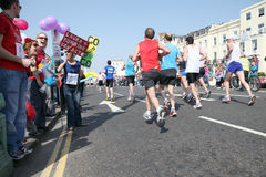 Brighton marathon 18th of April Stock Photography