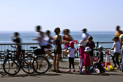 Brighton Marathon Stock Image