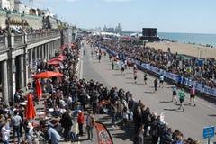 Brighton Marathon Grand Parade Stockfotografie