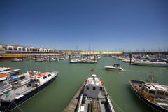 Brighton Marina Stockbilder