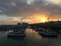 Brighton Marina Images stock