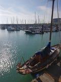 Brighton Marina dans le Sussex est, Angleterre image libre de droits