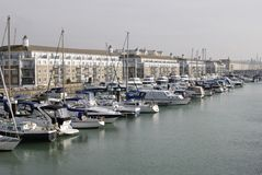 Brighton Marina. East Sussex. England Royalty Free Stock Photos