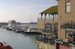Brighton Marina. East Sussex. England Royalty Free Stock Image