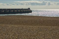 Brighton Marina, le Sussex, Angleterre images stock
