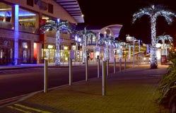 Brighton Marina at night. England Royalty Free Stock Image