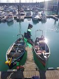 Brighton Marina in Sussex orientale, Inghilterra Fotografia Stock