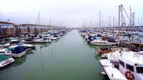 Brighton Marina Stock Image