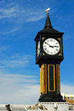 brighton mola wieży zegara obrazy stock