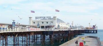 Brighton molo Zdjęcia Royalty Free
