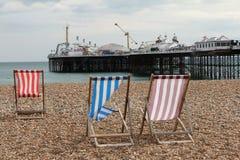 Brighton molo Fotografia Stock