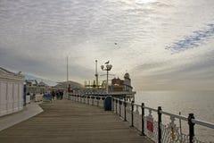 Brighton molo. Zdjęcia Royalty Free