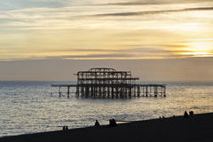 Brighton molo. Fotografia Royalty Free