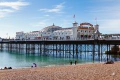 Brighton molo, Anglia, UK obraz stock