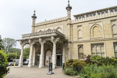 Brighton Museum en Art Gallery, het UK royalty-vrije stock afbeeldingen