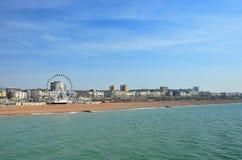 Brighton Nabrzeżne zdjęcia royalty free