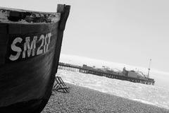 Brighton nadmorski Obraz Stock