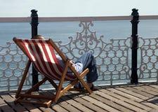 Brighton Napping Royalty Free Stock Photography
