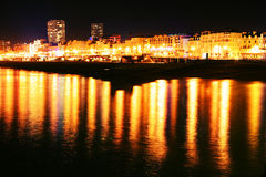 Brighton at night Stock Photography