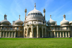 Brighton palace. The royal pavilion or palace in Brighton is a unique structure in the south of the UK. The palace was built by George IV Royalty Free Stock Photography
