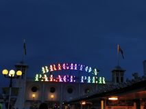 Brighton Palace Pier images libres de droits