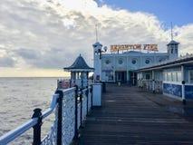 Brighton Palace Pier en Brighton foto de archivo libre de regalías