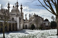 Brighton pavilion stock images