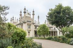 Brighton Pavilion real, Reino Unido imágenes de archivo libres de regalías