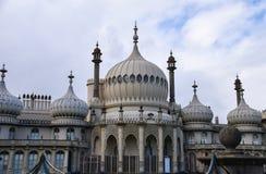 Brighton Pavilions-voorzijde stock fotografie