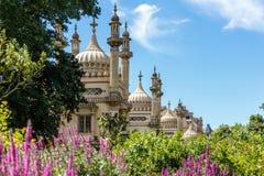 Brighton-Pavillon im Sommer Lizenzfreie Stockfotos