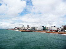 Brighton from the Pier Stock Photo
