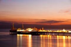 Brighton-Pier Lizenzfreie Stockfotografie