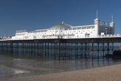 Brighton pier. Brighton Palace pier on a sunny spring morning royalty free stock photo
