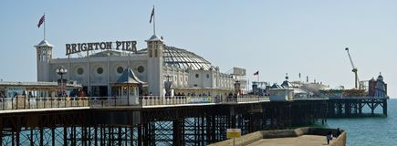 Brighton Pier Stock Photo